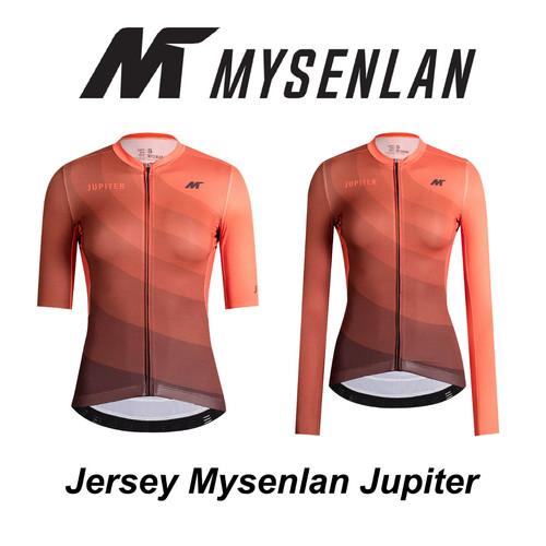 Foto Produk Jersey Mysenlan JUPITER MCQSS001B Orange Women Short Long Sleeve dari FittoBike