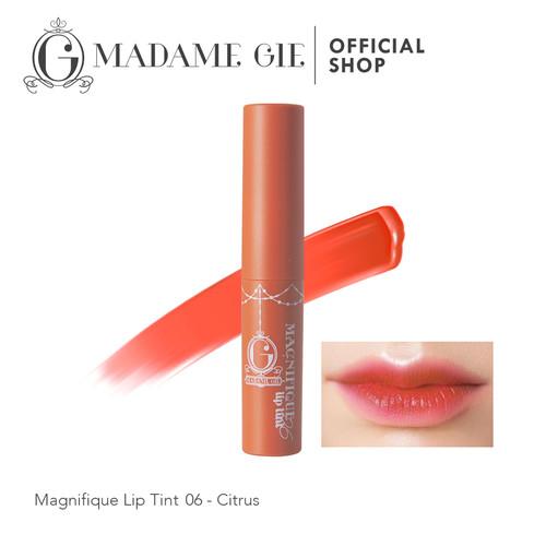 Foto Produk Madame Gie Magnifique Lip Tint - Citrus dari Madame Gie Official