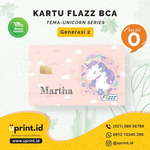 Foto Produk Kartu Flazz BCA Gen 2   Saldo 0   Custom Nama   FLZ066 dari Uprint.id