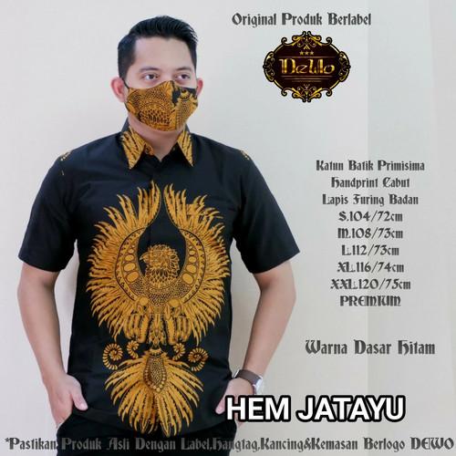 Foto Produk kemeja slimfit batik jatayu premium dari Jivan Batik