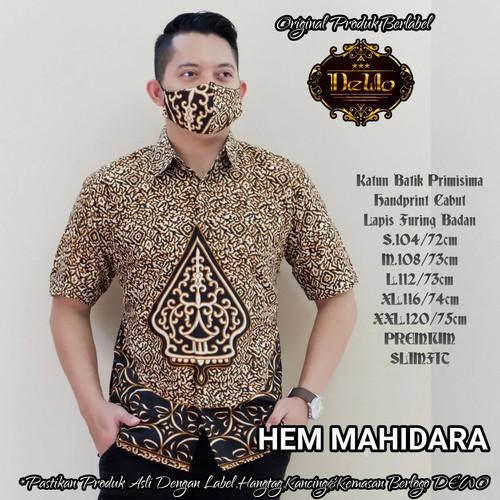 Foto Produk kemeja batik slimfit mahidara premium dari Jivan Batik