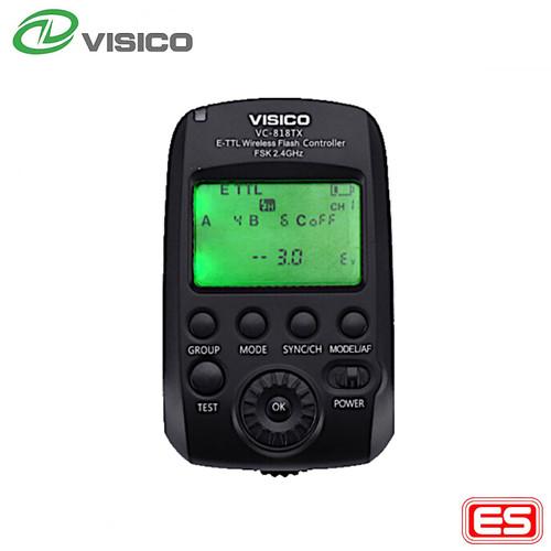 Foto Produk VISICO remote control / trigger VC-818 - Canon dari VISICO Official Store
