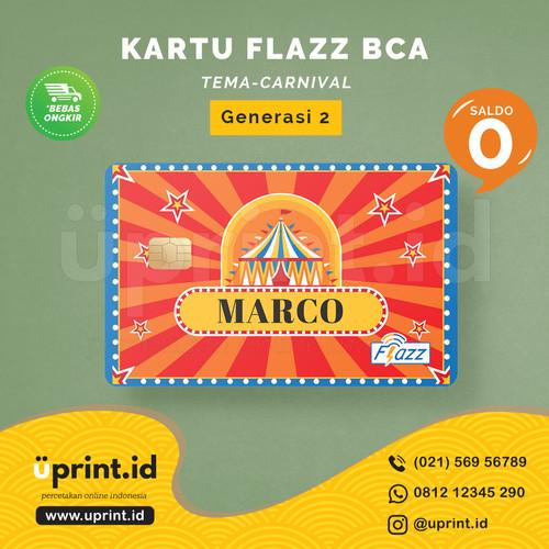 Foto Produk Kartu Flazz BCA Gen 2 | Saldo 0 | Custom Nama | FLZ072 dari Uprint.id