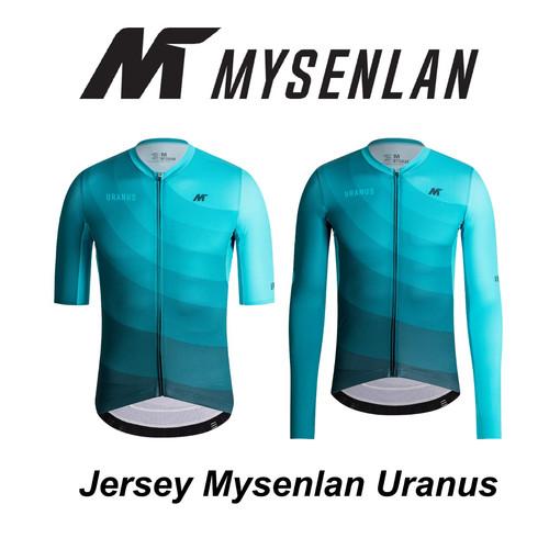 Foto Produk Jersey Mysenlan URANUS MCQSS001A Light Blue Men Short Long Sleeve dari FittoBike