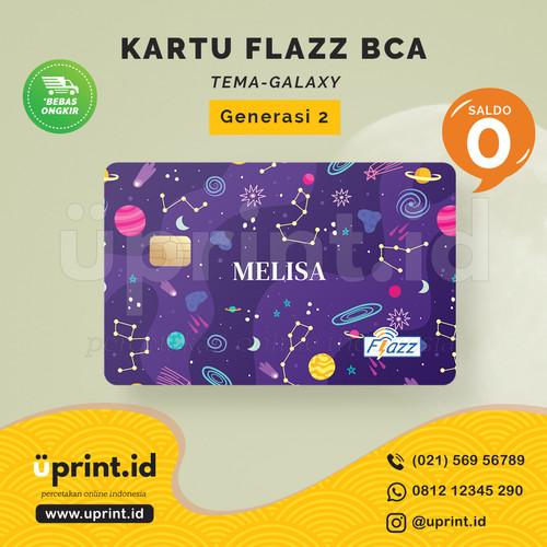 Foto Produk Kartu Flazz BCA Gen 2 | Saldo 0 | Custom Nama | FLZ091 dari Uprint.id