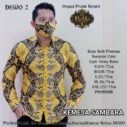 Foto Produk kemeja batik slimfit sambara premium dari Jivan Batik