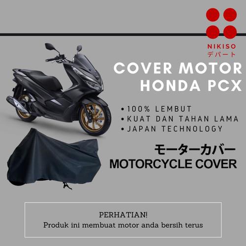 Foto Produk COVER MOTOR PCX WATERPROOF SARUNG MOTOR SELIMUT MOTOR - Non Waterproof dari Nikiso