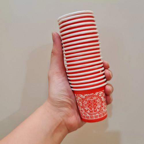 Foto Produk Gelas Kertas Teapai/Gelas Tepai/Paper Cup Sekali Pakai/Disposal Cup dari Chiarashop_id