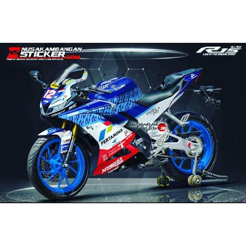 Foto Produk Stiker R15 V3 Mandalika 01 dari Nusakambangan Sticker01