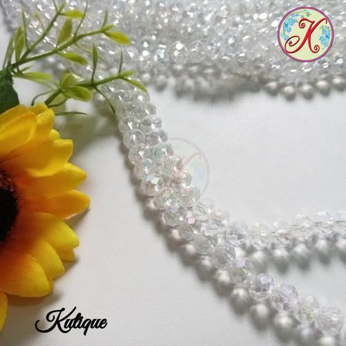 Foto Produk Mutiara Ceko Kristal 8mm - Putih dari Kutique Craft