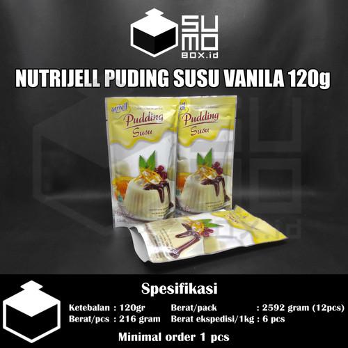 Foto Produk Nutrijell Nutrijel serbuk puding susu rasa 120gr, 145gr, 170gr - Vanilla 120gr dari Sumobox id