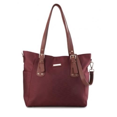 Foto Produk Tote Bag Wanita Phillipe Jourdan Wilona Maroon dari Phillipe Jourdan