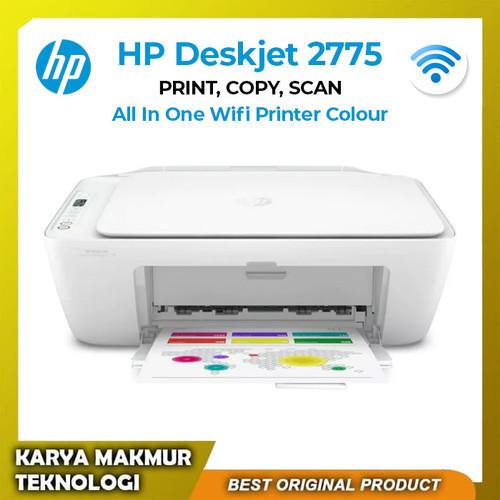 Foto Produk Printer Wireless HP 2775 All In One Print-Scan-Copy-Wifi Garansi Resmi - HP 2775 dari Karya Makmur Teknologi