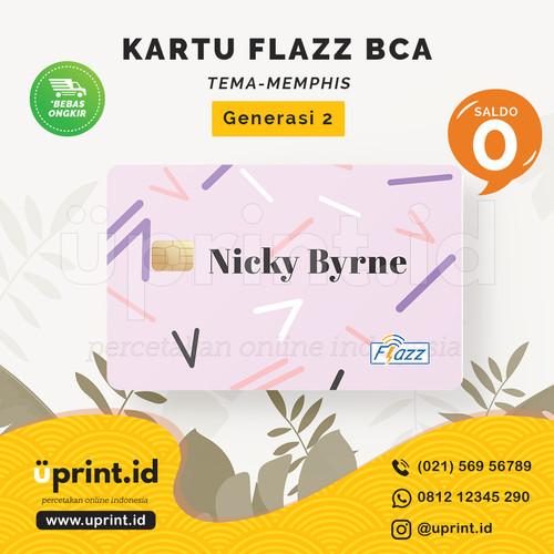 Foto Produk Kartu Flazz BCA Gen 2   Saldo 0   Custom Nama   FLZ042 dari Uprint.id