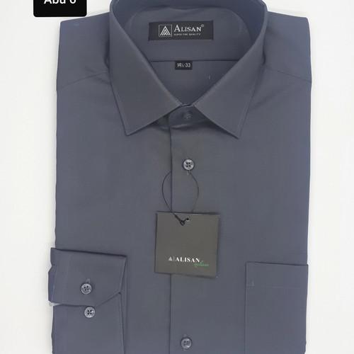 Foto Produk ALISAN ORIGINAL Slim fit Kemeja Pria Lengan Panjang Abu 6 ( Abu Tua ) dari paloma.go_shop