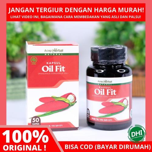 Foto Produk OilFit Kapsul - Ekstrak Buah Merah Papua Untuk Pembengkakn Jantung dari Devi Herbal Indonesia
