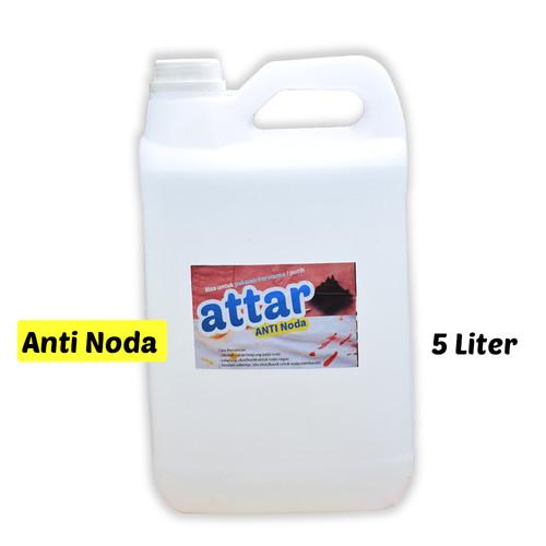Foto Produk Khusus Gosend/Grab- Cairan Pembersih ANTI NODA Pakaian ATTAR - 5 Liter dari Tasneem