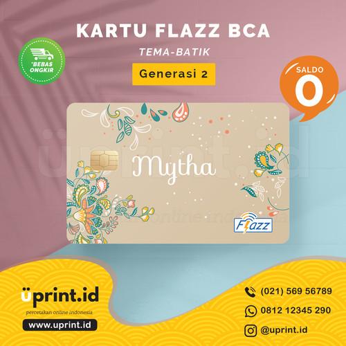 Foto Produk Kartu Flazz BCA Gen 2 | Saldo 0 | Custom Nama | FLZ022 dari Uprint.id