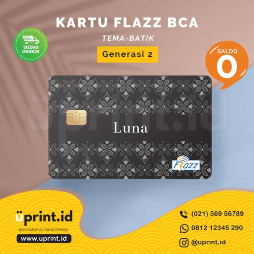 Foto Produk Kartu Flazz BCA Gen 2   Saldo 0   Custom Nama   FLZ021 dari Uprint.id
