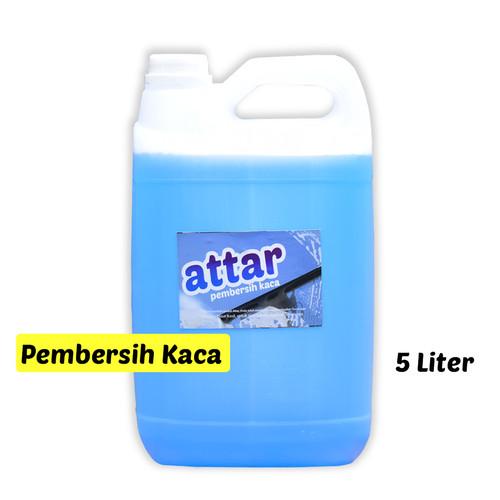 Foto Produk KHUSUS GoSend/Grab -Sabun Pembersih Kaca ATTAR - Glass Cleaner 5 Liter dari Tasneem
