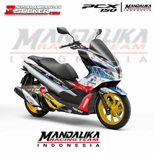 Foto Produk Stiker PCX Mandalika 02 dari Nusakambangan Sticker01