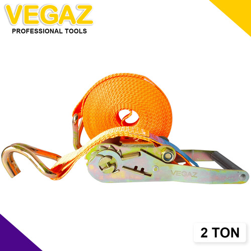 Foto Produk VEGAZ - Rachet tie Down / Tali Rachet 2 TON x 10 M dari Vegaz-Tools