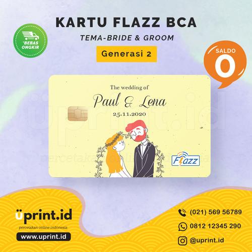Foto Produk Kartu Flazz BCA Gen 2   Saldo 0   Custom Nama   FLZ030 dari Uprint.id