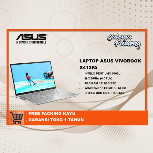 Foto Produk Asus VivoBook A412FA Intel Pentium 5450U Ram 4 GB/512 SSD dari cahaya pamong