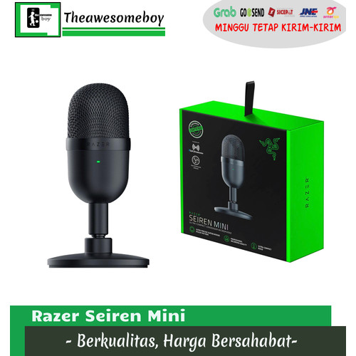 Foto Produk Razer Seiren Mini USB Gaming Microphone Streaming Mic dari Theawesomeboy