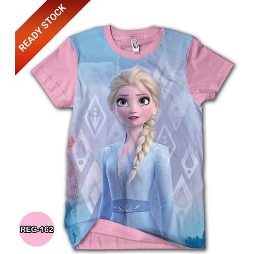 Foto Produk Kaos FROZEN 2 Disney Elsa Anna Baju Frozen Kartun TV Anak #REG-162 - No.0 (0-1 thn) dari BDG Grosir Kaos
