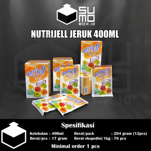 Foto Produk Nutrijell Nutrijel 10gram / Bubuk agar jelly pudding instan - Jeruk dari Sumobox id