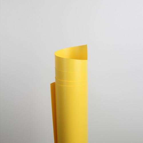 Foto Produk Background Foto Polos Warna 60x100cm / Alas Foto Decosheet Waterproof - Kuning dari alasfotoprops