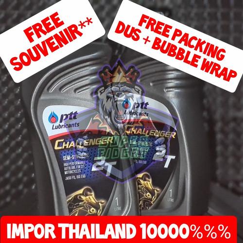 Foto Produk OLI SAMPING PTT CHALLENGER 2T ORIGINAL IMPOR THAILAND 1000% dari Super Fidget