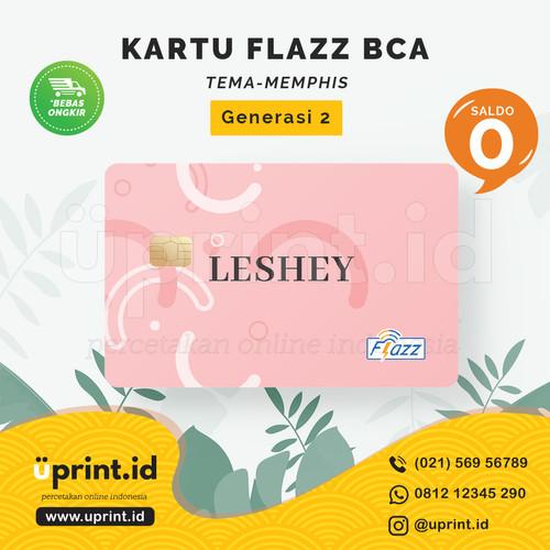 Foto Produk Kartu Flazz BCA Gen 2 | Saldo 0 | Custom Nama | FLZ041 dari Uprint.id