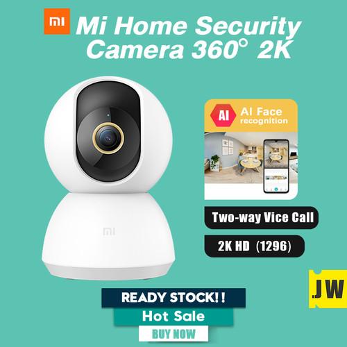 Foto Produk Xiaomi Mi Home Smart Security Camera 1080p IP Cam 360° CCTV Xiaomi - Mi Cam 2K, Camera Only dari vinkovinko