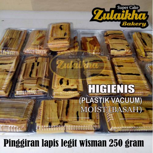 Foto Produk PINGGIRAN KUE LAPIS LEGIT WISMAN 250 GRAM dari zulaikha supercake