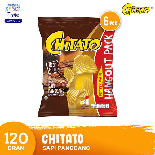 Foto Produk Chitato Sapi Panggang 120 Gr - 6 Pcs dari Indofood Snack Time