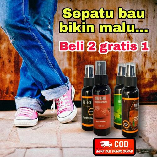 Foto Produk PARFUM SEPATU ANTI BAKTERI/ANTI BAU SEPATU - green apple dari happy fam