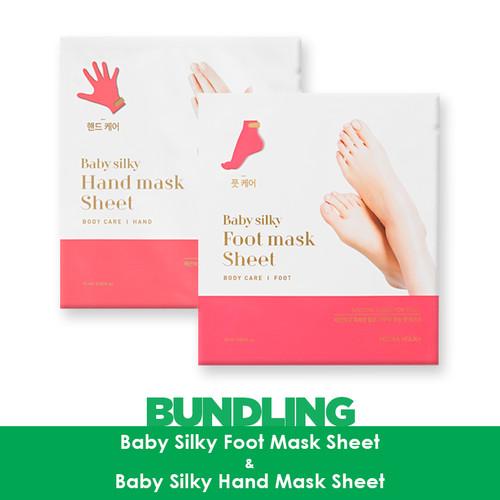 Foto Produk Holika Holika Baby Silky Hand Mask Sheet + Baby SIlky Foot Mask Sheet dari Holika Holika Indonesia