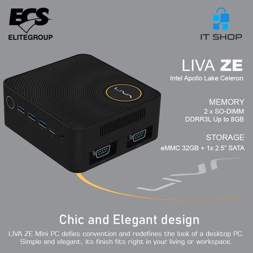 Foto Produk ECS Mini PC Intel LIVA ZE dari IT-SHOP-ONLINE