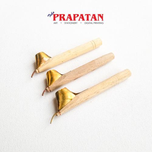 Foto Produk Canting batik / Canting tulis / Canting batik tulis set isi 3 dari Toko Prapatan-alat lukis