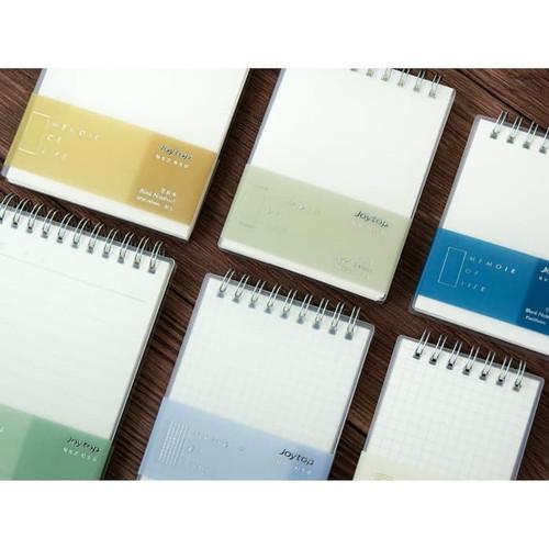 Foto Produk Memoir of Life Spiral Notepad A7 dari Pinkabulous