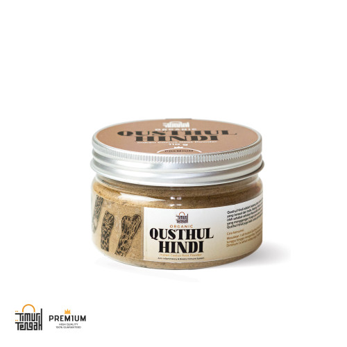 Foto Produk Qusthul Hindi Timur Tengah 110 gr Qust Al-Hindi Premium Original dari Timur Tengah Indonesia