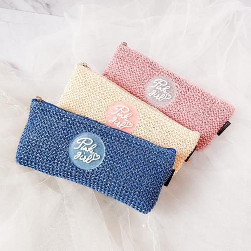 Foto Produk Pink Girl Knit Style Pencil Case dari Pinkabulous