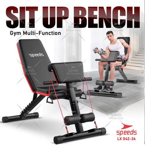 Foto Produk SIT UP BENCH - DUMBBELL SIT UP BOARD FITNESS MODEL SPEEDS 042-24 dari Speeds Official Store