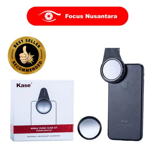 Foto Produk KASE Smartphone Filter Kit CPL + GND1.2 dari Focus Nusantara