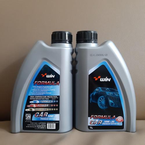 Foto Produk Oli Mesin WIN Formula Car 10W30 API SL - 1liter dari hanny shop store