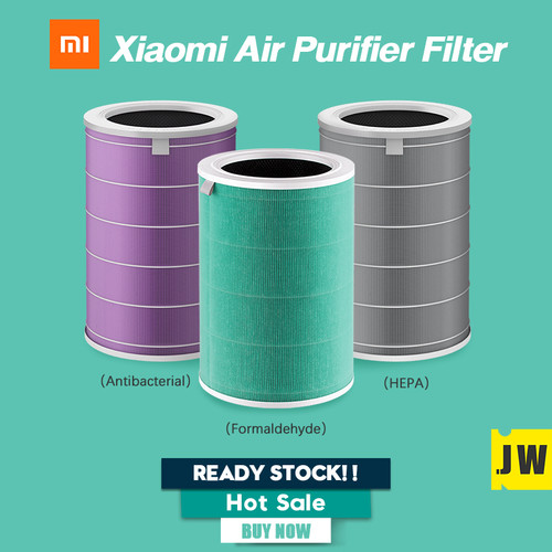 Foto Produk Xiaomi Mi Air Purifier Filter HEPA Anti-formaldehyde Antibacterial - Hitam dari vinkovinko