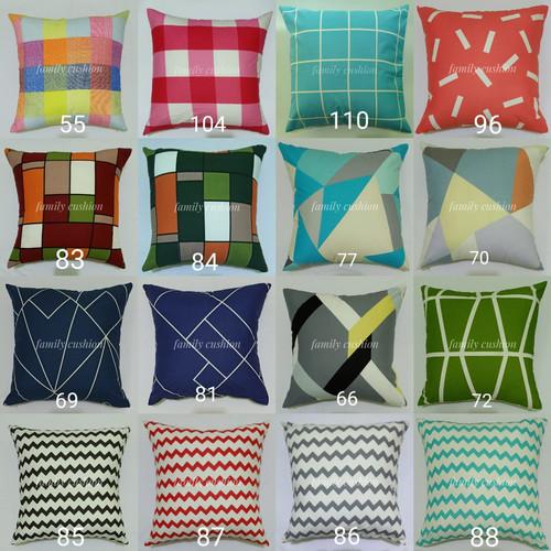 Foto Produk SARUNG BANTAL SOFA CUSTOM SIZE (30, 40, 45, 50, 55, 60, 65, 70, 90) - 30x30 dari family.cushion