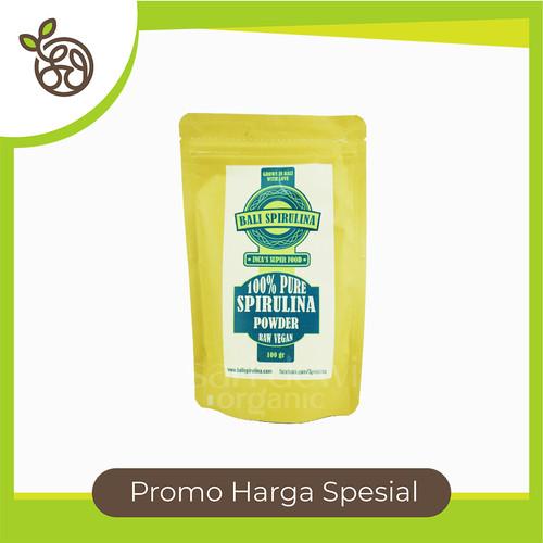 Foto Produk BALI SPIRULINA 100% PURE SPIRULINA POWDER RAW VEGAN 100 GR dari Sari_Dewi Organic